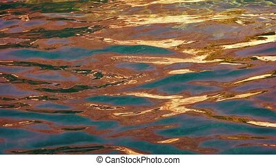 Multicolor Water Surface