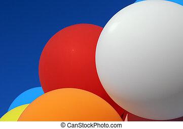 multicolore, ballons