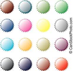 multicolore, capsules