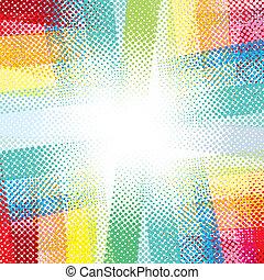 multicolore, colorito