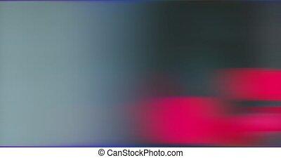 multicolore, mouvement, lumières, clair, déformé, brouillé