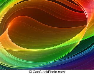 multicolore, résumé, fond