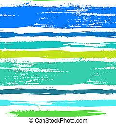 multicolore, rayé, modèle, à, brossé, lignes