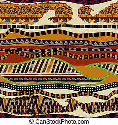 multicolore, seamless, texture, ethnique