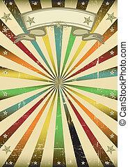 multicolore, vendange, fond