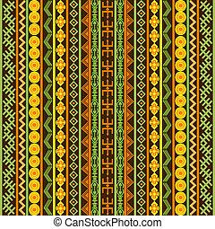 multicolored, étnico, textura, africano