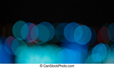 Multicolored abstract bokeh.