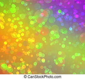 multicolored, abstratos, bokeh, fundo