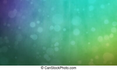 Multicolored background with floating particles - Abstract...