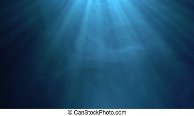 Multicolored background with rays of light