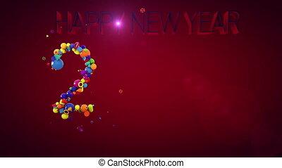 Multicolored Balls Make 2018