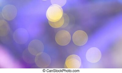 multicolored bokeh. many colored blurry lights. -...