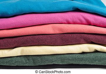Multicolored clothes