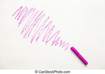 multicolored crayons on a white background