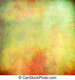 Multicolored grunge abstract texture for background