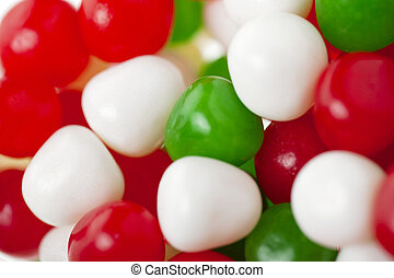 multicolored gumballs - Multicolored gumballs isolated on
