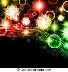 multicolored holiday background