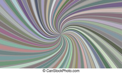 Multicolored hypnotic abstract spiral background