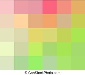 Multicolored mosaic background