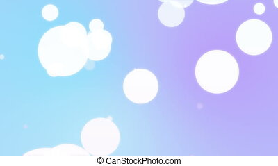 Multicolored motion gradient background with scattered...