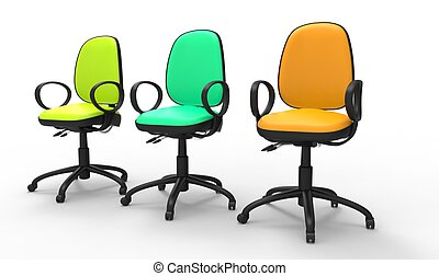 Multicolored Office Chairs