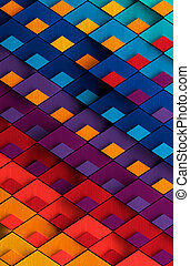 Multicolored Painted Metal Background - Multicolored ...
