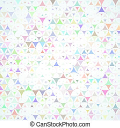 multicolored scattered shapes background - Abstract vector...