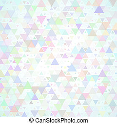 multicolored scattered triangles background - Abstract...