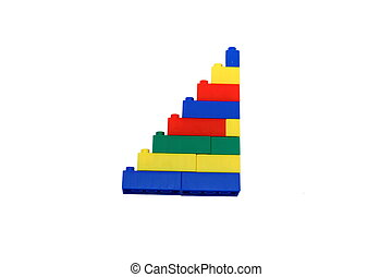 multicolored steps from the children's designer