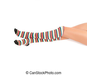 Multicolored stockings