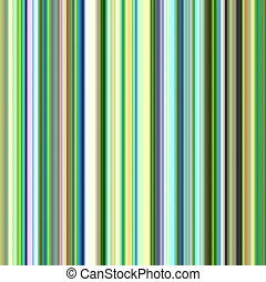 Multicolored streaks