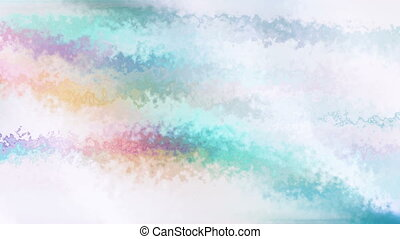 Multicolored texture loop - Abstract animated multicolored...