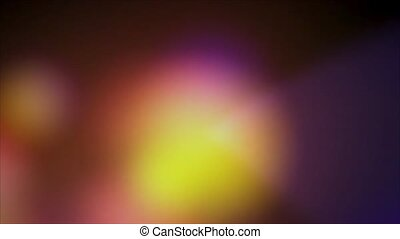 Multicolored transfusion of light on a black background HD 1080