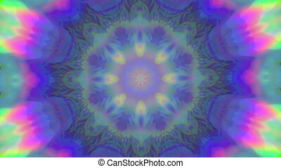 Multicolored vintage acid colors dreamy glittering...