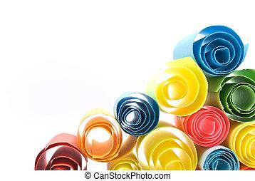 multicolour , χαρτιά