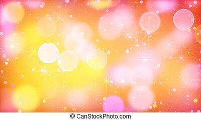 multicolour bokeh lights particles - multicolour bokeh...