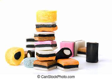 Multicoloured Liquorice Sweets