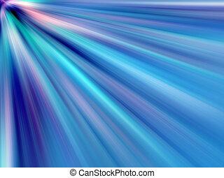 multicoloured, raios, luz