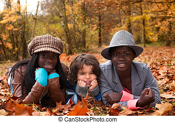 multicultural, crianças
