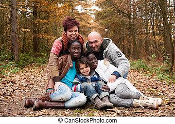 multicultural, familia