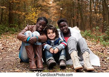 multicultural, irmãs