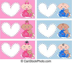 multicultural, niemowlęta