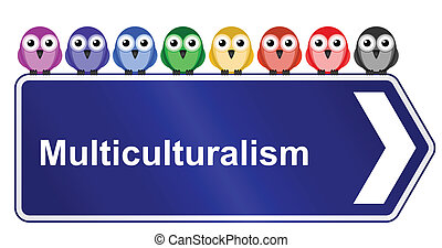 multiculturalism in society - Representation of...