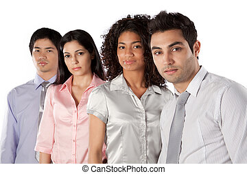 Multiethnic Group of Businesspeople