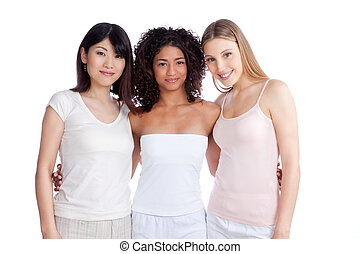 Multiethnic Group of Woman