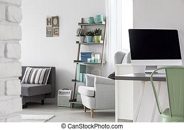 Multifunctional studio flat - Trendy bright multifunctional ...