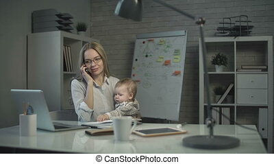 Multifunctional Woman - Close up of woman coordinating...