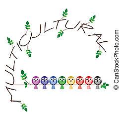 multikulturell