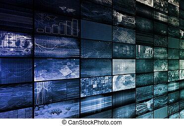 multimédia, numérique