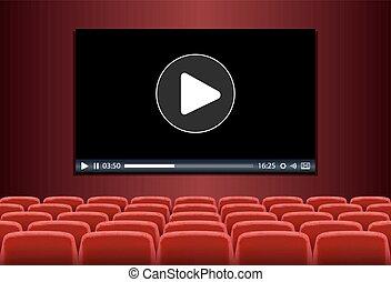 multimédia, théâtre, jouer